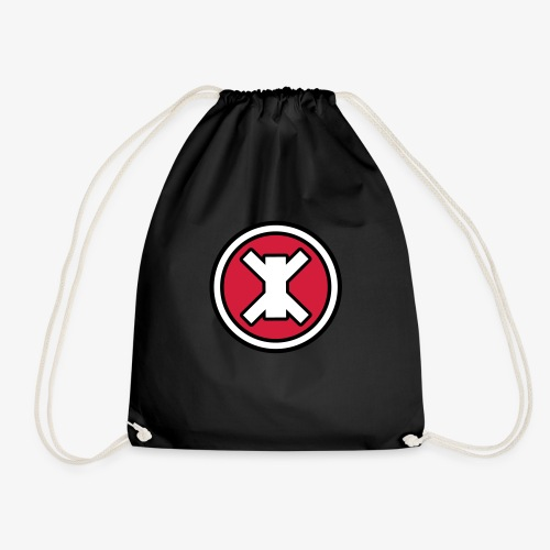 Logo red - Drawstring Bag