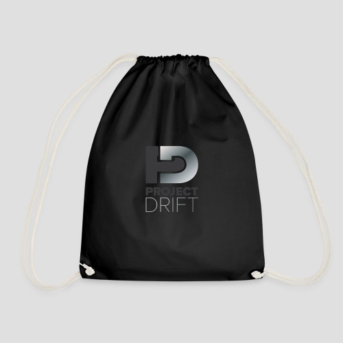 Project Drift LOGO 01 png - Drawstring Bag