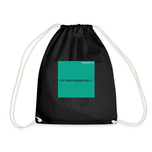 Let's get Knowitally Custom Standards - Drawstring Bag
