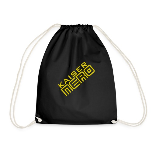 19758 2Ckaiser NERO Logo schraeg Plus - Drawstring Bag