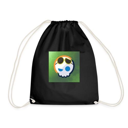 6961 2Clockstin skull - Drawstring Bag