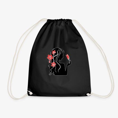 Silohuette - Drawstring Bag