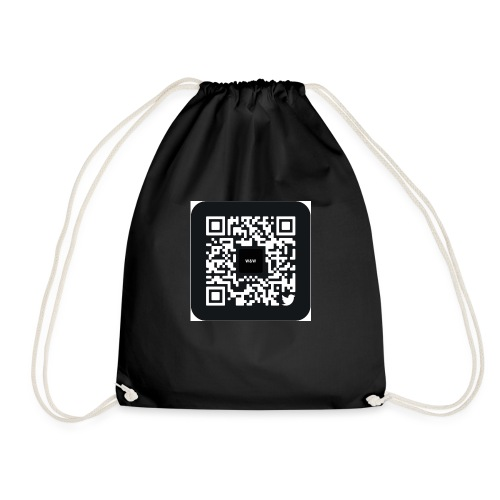 W&W Instagram QR - Drawstring Bag