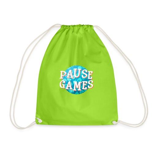 Pause Games New Version - Drawstring Bag