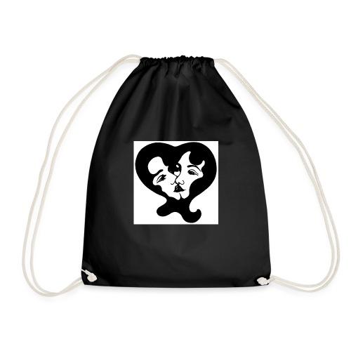 Girl Action - Drawstring Bag