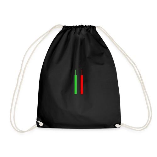 Two Forex Candles - Drawstring Bag