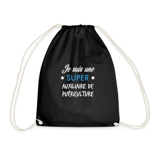 Je suis une super auxiliaire de puériculture - Sac de sport léger