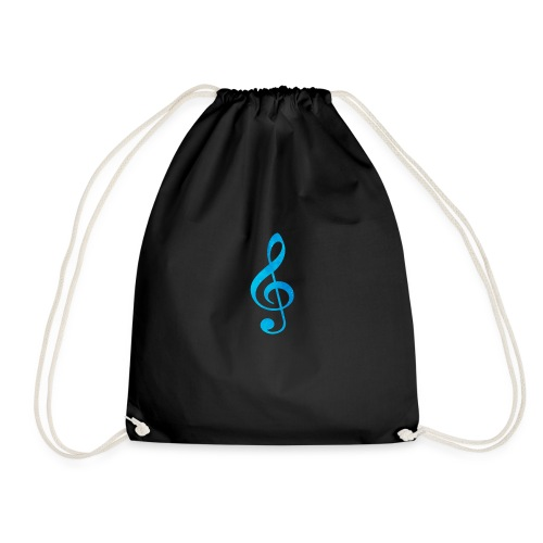 Treble Clef - Drawstring Bag