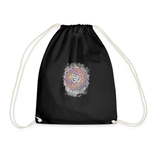 Colorful Mandala Aum - Drawstring Bag