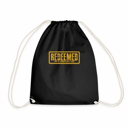 Redeemed sweater - Drawstring Bag