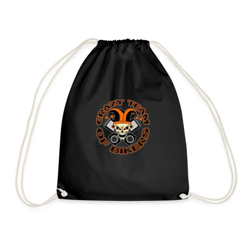 Crazy Team of Bikers Logo Copie officiel trans png - Sac de sport léger