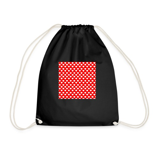 Hearts classic - Drawstring Bag