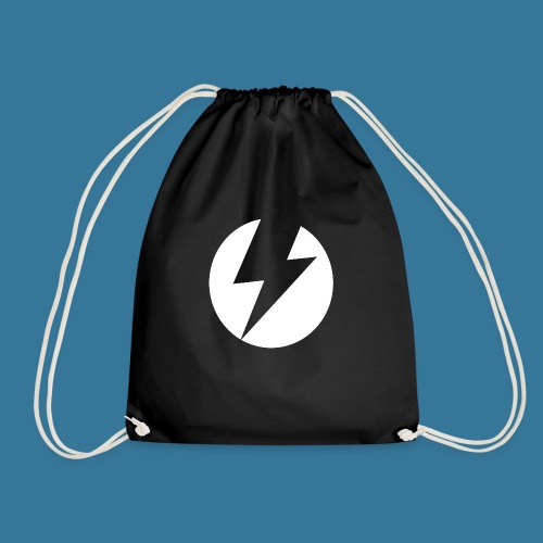 BlueSparks - White - Drawstring Bag