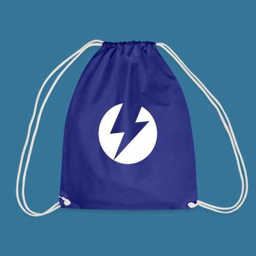 BlueSparks - White - Drawstring Bag
