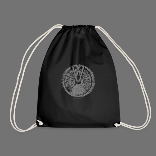 Maschinentelegraph (gray oldstyle) - Drawstring Bag
