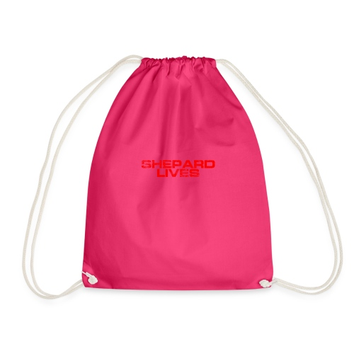 Shepard lives - Drawstring Bag