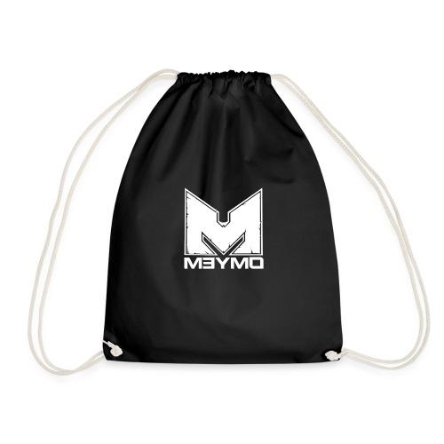 Meymo Logo Weiß - Turnbeutel