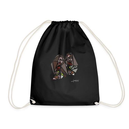 john-yoko.png - Drawstring Bag