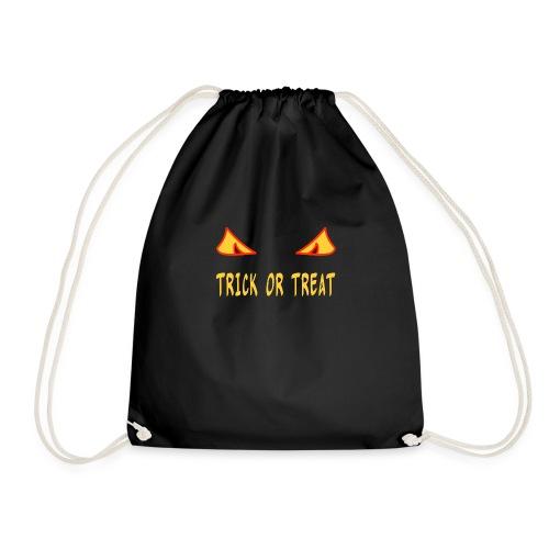 Halloween trick or treat mit Monsteraugen - Turnbeutel