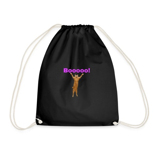 Cat scared - Drawstring Bag