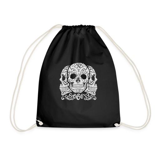 Skull Dia de los muertos - Sac de sport léger