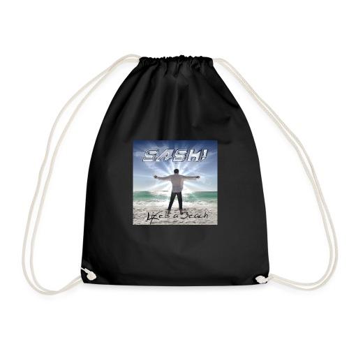 Life Is A Beach Cover - Drawstring Bag