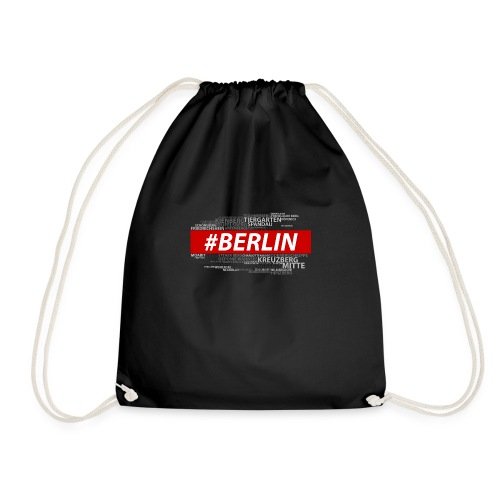Hashtag Berlin - Turnbeutel