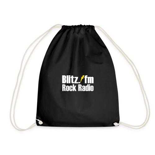BLITZ FM TSHIRT Schwarz - Turnbeutel