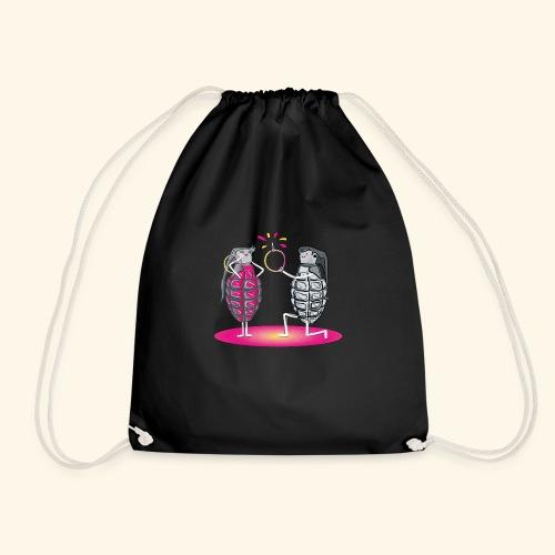Grenade engagement - Drawstring Bag