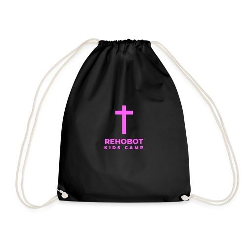 Pink Logo - Drawstring Bag