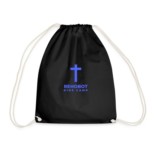Blue Logo - Drawstring Bag