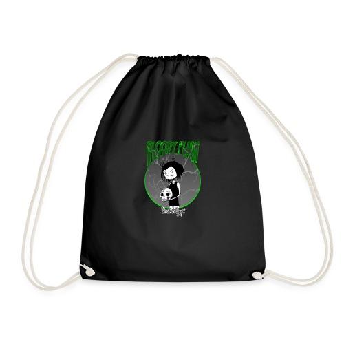 Bloody Plum Skull - Drawstring Bag