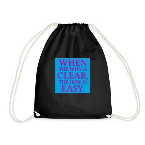 Quote Photo - Drawstring Bag