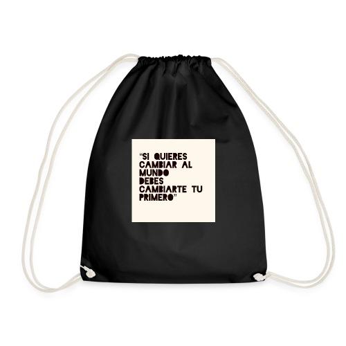 Cambio interno para cambiar externamente - Mochila saco