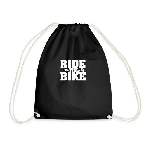 RIDE THE BIKE - Turnbeutel