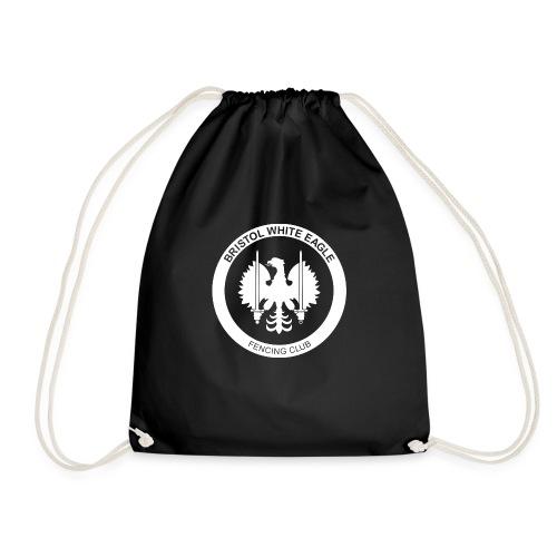 BWE ROUNDEL WHITE - Drawstring Bag