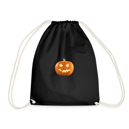 Halloween Pumpkin scary face 8 - Gymbag
