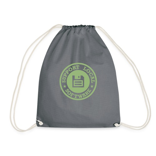 Support Local Software - Drawstring Bag