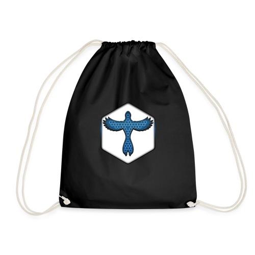 Buwlink • White - Drawstring Bag