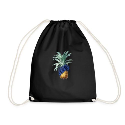 Pineapple with pineapple blue - Turnbeutel