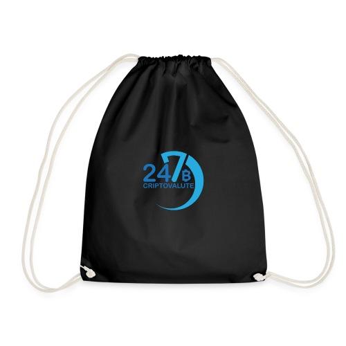 Criptovalute 247 Logo 2 - Sacca sportiva