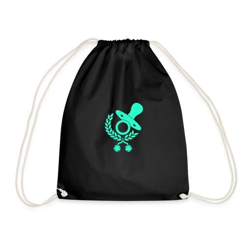 Baby Eltern Schwangere Schnuller Logo - Turnbeutel
