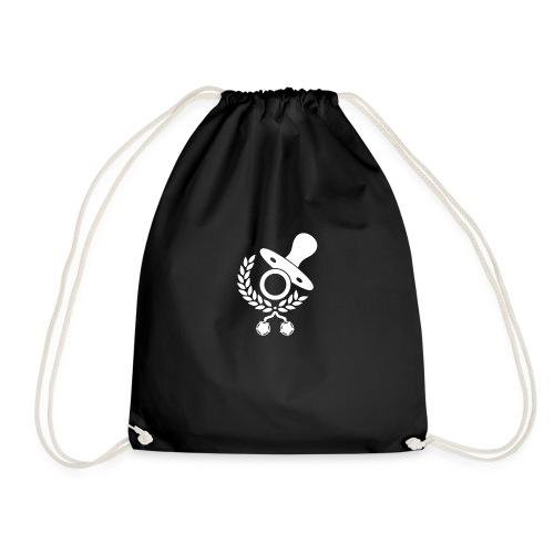 Baby Eltern Schwangere Logo - Turnbeutel