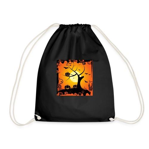 halloween ambience - Drawstring Bag