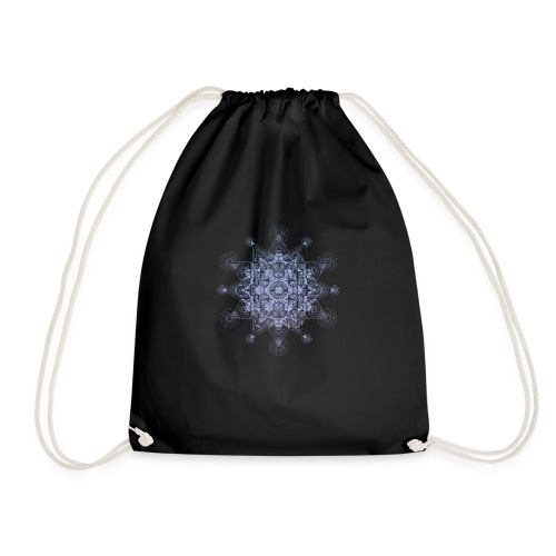 Sacred Star Dimensions Gradient - Drawstring Bag