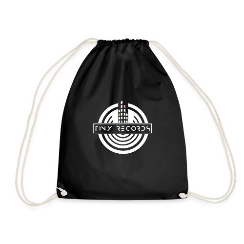Tiny Records - White Logo - Sportstaske