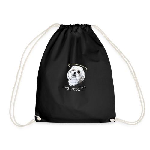 HOLY SCHI TZU - Drawstring Bag