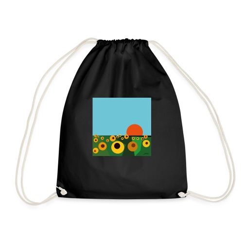 Sunflower - Drawstring Bag