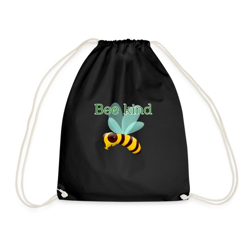 Bee kind - Drawstring Bag