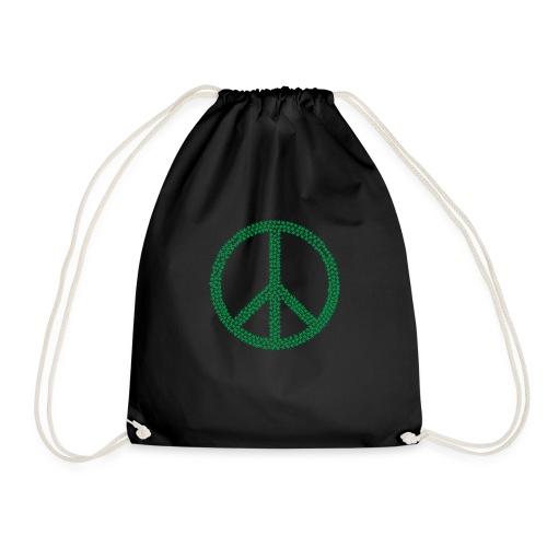 Marijuana Peace - Drawstring Bag